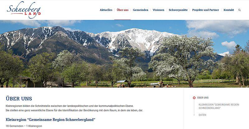 Regionschneebergland